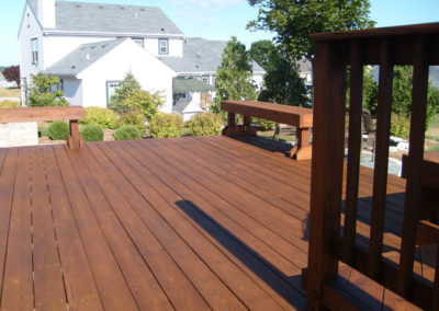 Deck, Bench Butternut-L