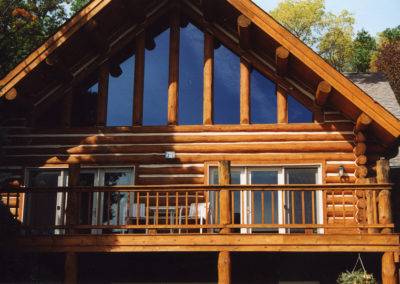 Log Home Pewaukee-L